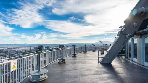 Don't Miss the Observation Deck of The Stratosphere!