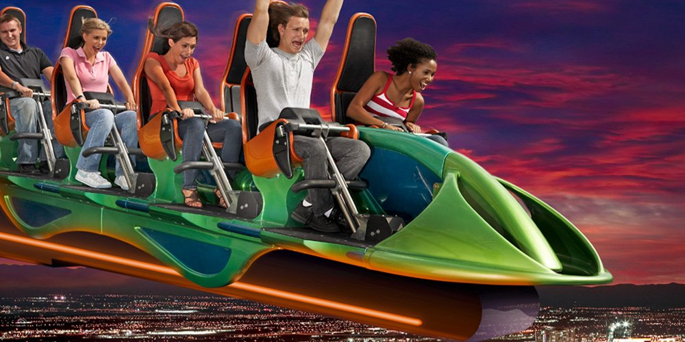 X-Scream   Las Vegas Thrill Ride at The Stratosphere