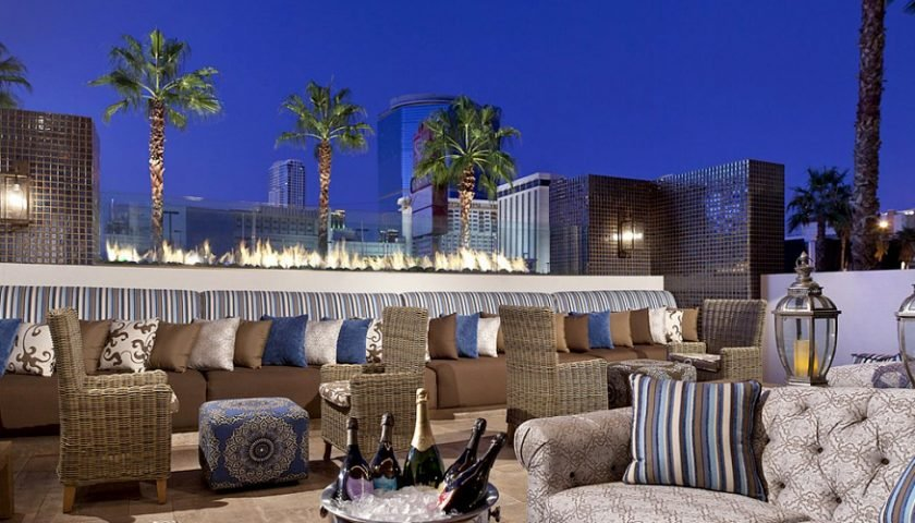 The Barrymore - Las Vegas outdoor dining