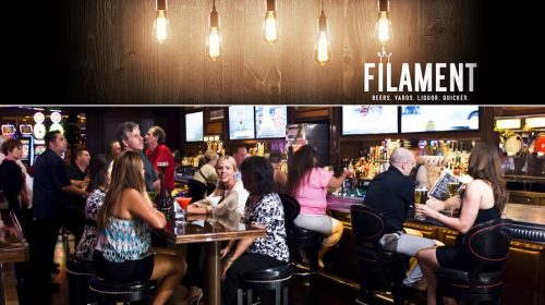 The Filament Bar at Fremont Hotel and Casino