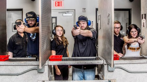 Have a Blast Shooting at the Gun Store Range in Las Vegas
