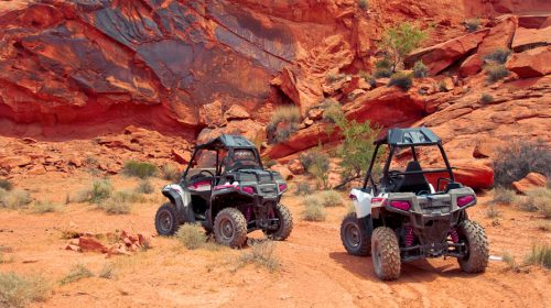 Las Vegas ATV Tour to the Valley of Fire in the Desert