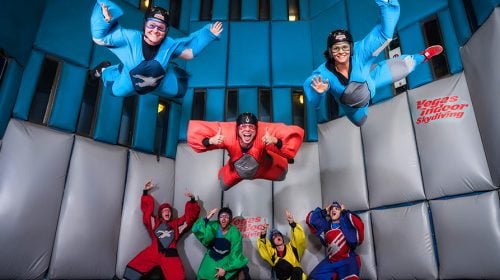Las Vegas Indoor Skydiving For The Not-So-Daring Adventurers