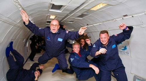 Get Weightless at Zero G in Las Vegas!