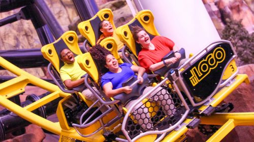 El Loco Rollercoaster at Adventuredome is a Can't-Miss Thrill!
