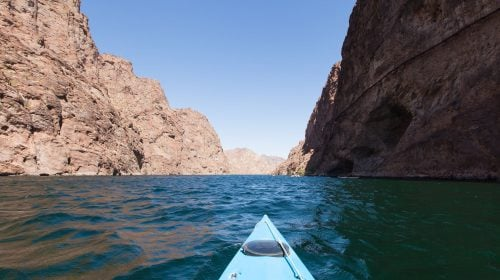 Kayak Lake Mead