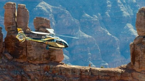 Grand Canyon Helicopter Flight with Landing and Rafting