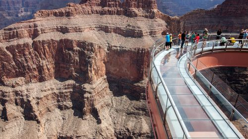Grand Canyon West Rim Bus Tour and Skywalk