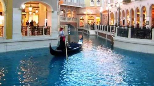 The Venetian Gondola Rides