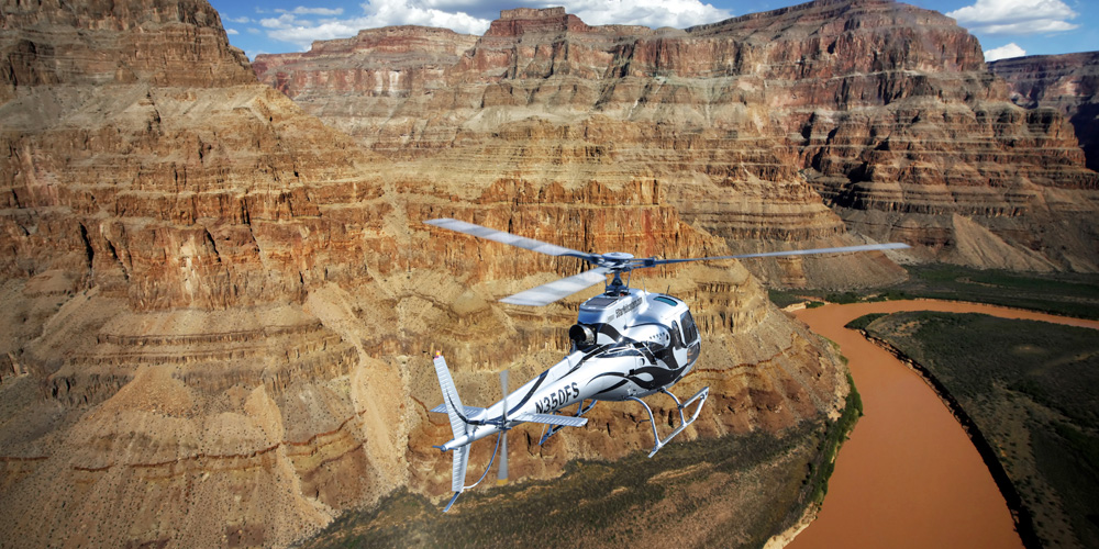 Extended Above and Below Grand Canyon Helicopter Tour (Non-Landing)