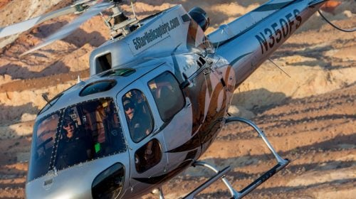 Grand Canyon West Rim Helicopter Air Tour Flight with Bonus Landing