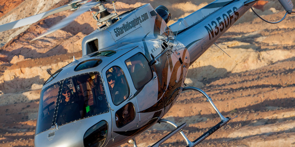 Grand Canyon West Rim Helicopter Air Tour Flight