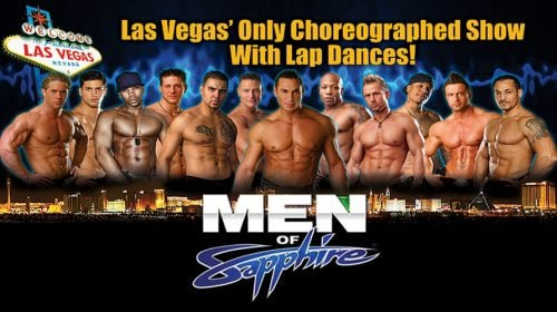 Men of Sapphire – Las Vegas Show
