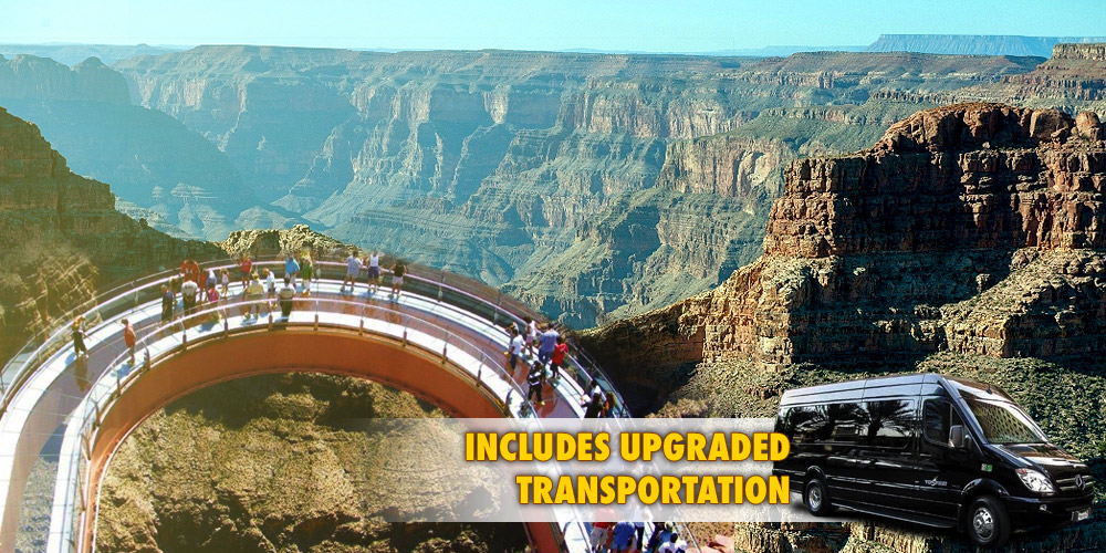 GRAND CANYON WEST RIM BUS TOUR WITH SKYWALK