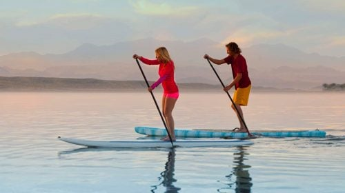 LAKE LAS VEGAS PADDLE BOARD