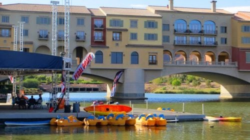 LAKE LAS VEGAS ELECTRIC PEDAL BOAT RENTAL