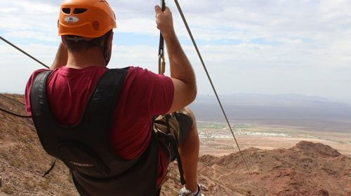 Flightlinez Zipline at Bootleg Canyon