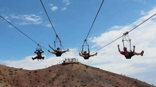 Las Vegas Zipline VIP Experience