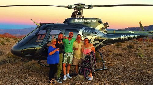 GRAND CANYON HELICOPTER FLIGHT RIM LANDING