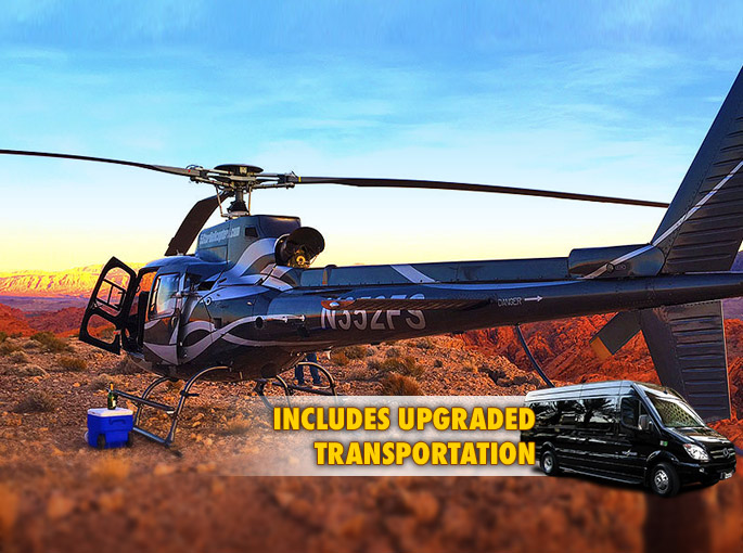 GRAND CANYON SUNSET HELICOPTER FLIGHT  Things To Do In Las Vegas