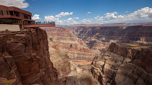 GRAND CANYON HELICOPTER FLIGHT RIM LANDING AND SKYWALK