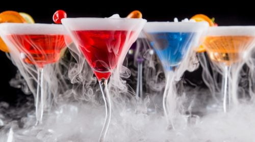 Where to Find Dry Ice Cocktails in Las Vegas