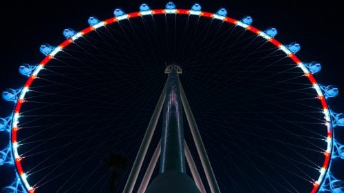Take a Ride on the High Roller at The LINQ