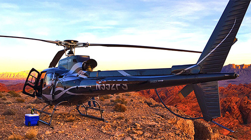 GRAND CANYON SUNSET HELICOPTER FLIGHT