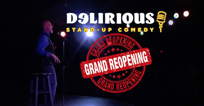 Delirious Comedy Club Las Vegas