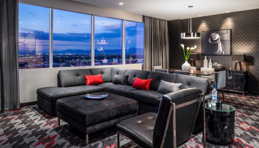 The D Hotel suite