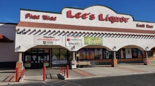 Lee's Discount Liquor — Rainbow / Flamingo